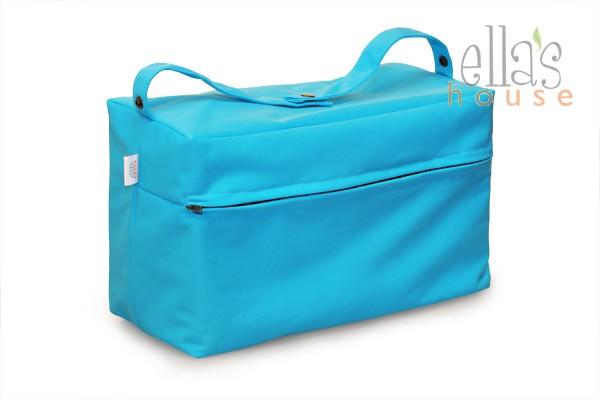 Buggy bag tyrkysová-taška na pleny