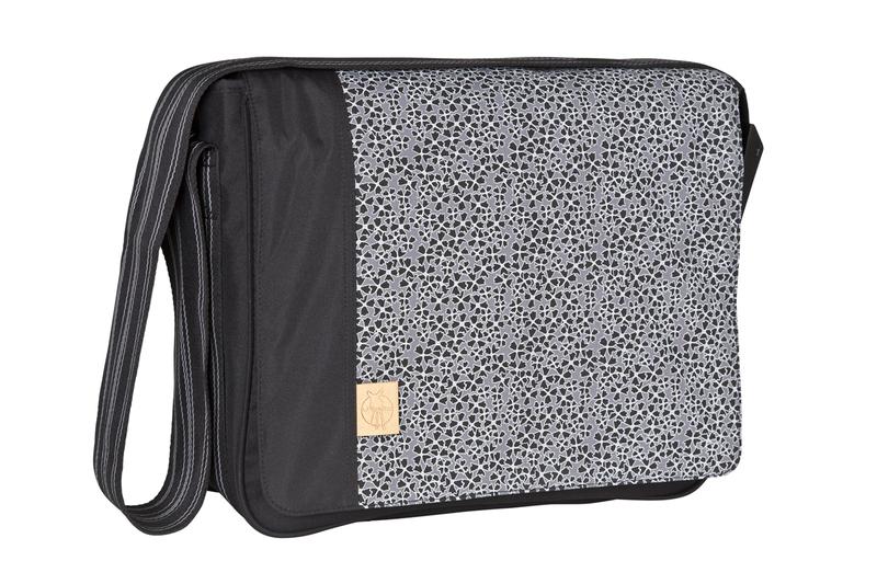 Lässig Casual Messenger Bag Blossy black