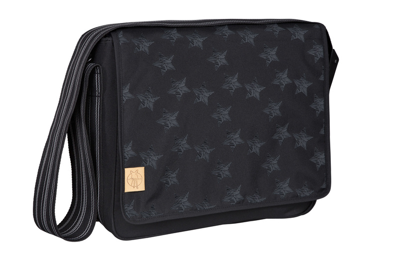 Lässig Casual Messenger Bag Reflective Star black