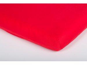 Träumeland prostěradlo Tencel 40x90 rot