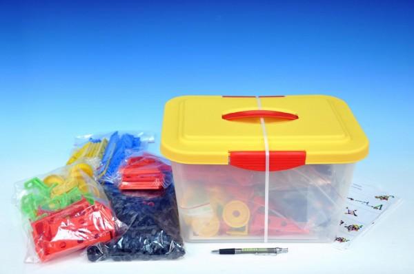 Stavebnice Variant Malý konstruktér 402 dílů v plastovém boxu