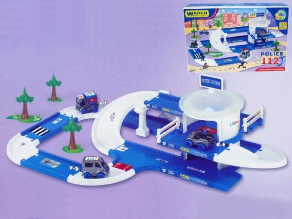 Kid Cars 3D Policie plast 3,8m v krabici od 12 měsíců Wader