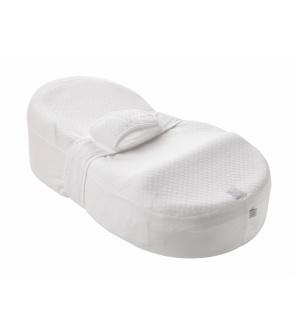 CocoonaBaby podložka + povlak bílá