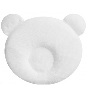Candide Panda polštářek bílý