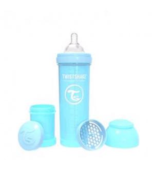 TWISTSHAKE Láhev kojenecká Anti-Colic 330 ml pastelově modrá