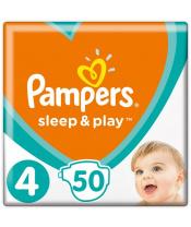 Pleny Sleep&Play 4 MAXI 9-14kg 50 ks Pampers