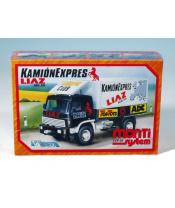 Stavebnice Monti System MS 28 Camion Expres Liaz 1:48 v krabici 22x15x6cm