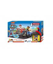 Autodráha Carrera First Paw Patrol/Tlapková Patrola 3,5m plast +2 auta na bat. v krabici 50x30x8cm
