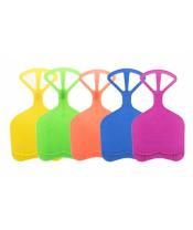 Kluzák na sníh plastový 5 barev 34x59cm