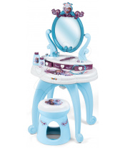 Smoby Kosmetický stolek Frozen 2 Disney 2v1  se židlí a 10 doplňků