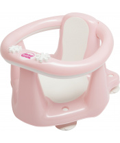 OK BABY Sedátko do vany Flipper Evolution - světle růžové