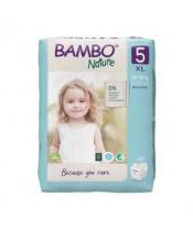 BAMBO Nature Jednorázové pleny 5, 22 ks, 12-18 kg