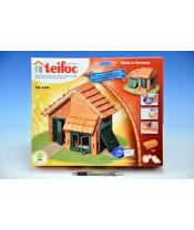 Stavebnice Teifoc Domek Albert 200ks v krabici 35x29x8cm