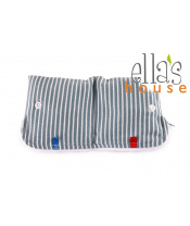 Moon pouch stripes blue-kapsička na hygienické potřeby