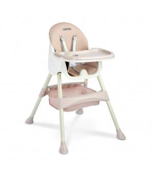 Jídelní židlička 2v1 CARETERO Bill pink