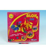 Stavebnice BLOK 4 Zoo plast 235ks v krabici 35x33x10cm