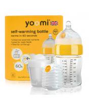 Yoomi 8oz Bottle/Warmer/Teat/Pod 2019 - Y18B1W1P