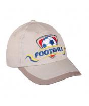 Letní dětská kšiltovka New Baby Football2 béžová