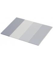 Scarlett Skládací žíněnka Scarlett Dáša - URB/M – mléčně šedá, 200 x 140 x 4 cm