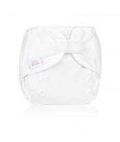 EH Newbie wrap white - novorozenecké svrchní kalhotky