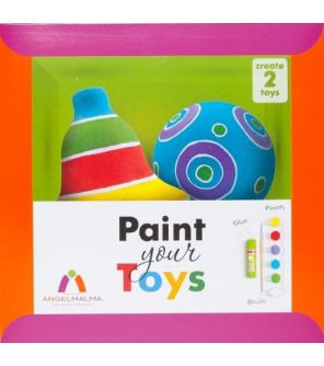Angel Malma Paint Your Toys - Vytvoř si své ozdoby   DOPRODEJ