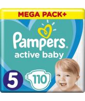 Plenky Active Baby 5 JUNIOR 11-16kg 110ks Pampers
