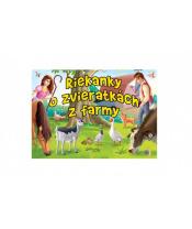 Leporelo Riekanky o zvieratkách z farmy SK verzia 22,5x16cm