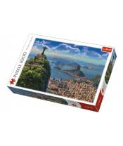 Puzzle Rio de Janeiro 1000 dílků v krabici 40x27x6cm