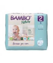 BAMBO Nature Jednorázové pleny 2, 30 ks, 3-6 kg