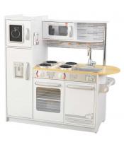 KIDKRAFT Moderní dřevěná kuchyňka Uptown bílá