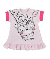 Kojenecké letní šaty Koala Sara růžové