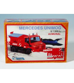 Stavebnice Monti System MS 18 Communal Mercedes 22x15x6cm