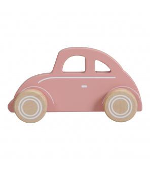 Tiamo Little Dutch dřevěné autíčko brouk pink