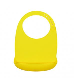 Bryndák silikonový Sam - žlutý Petite&Mars