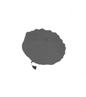 Slunečník na kočárek šedý tmavý