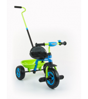 Dětská tříkolka Milly Mally Boby TURBO blue-green