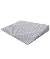 Polštář klín Grey Classics 60x45cm, 0-6m
