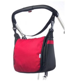 Taška na kočárek CARETERO - red