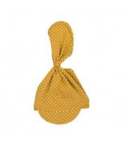 Kojenecká bavlněná čepička-šátek Nicol Michelle