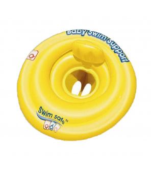 BESTWAY Kruh baby sedací s opěrkou nafukovací, průměr 69 cm
