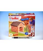 Stavebnice Teifoc Chatka 40ks v krabici 18x8x8cm