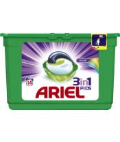 ARIEL Color All in 1 Gelové Kapsle - 14 praní