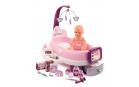 Smoby SM220347 Pečovatelské centrum elektronické Violette Baby Nurse  s 30 cm čurající panenkou a 24 doplňky