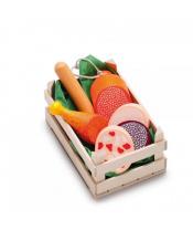 Erzi obchůdek - uzeniny - set potravin malý