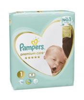 Pleny Premium Care 1 NEWBORN 2-5kg 78 ks Pampers
