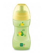 MAM Hrnek Sports cup 330 ml, 12+ m zelený - želva