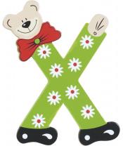 Playshoes dřevěné písmenko X