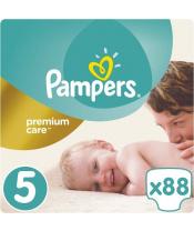 Pleny Premium Care 5 JUNIOR 11-16 kg 88 ks Pampers