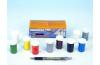Unikolky modelářské barvy sada 9 barev + matný lak zdarma v krabičce