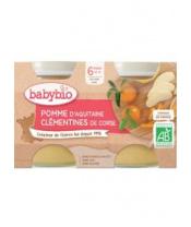 2x BABYBIO Mirabelky jablko (130 g)